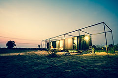 shipping container:conex container home