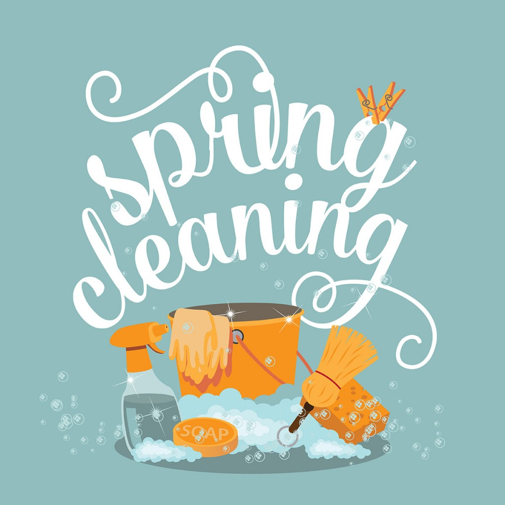 spring cleaning with automated waste services
