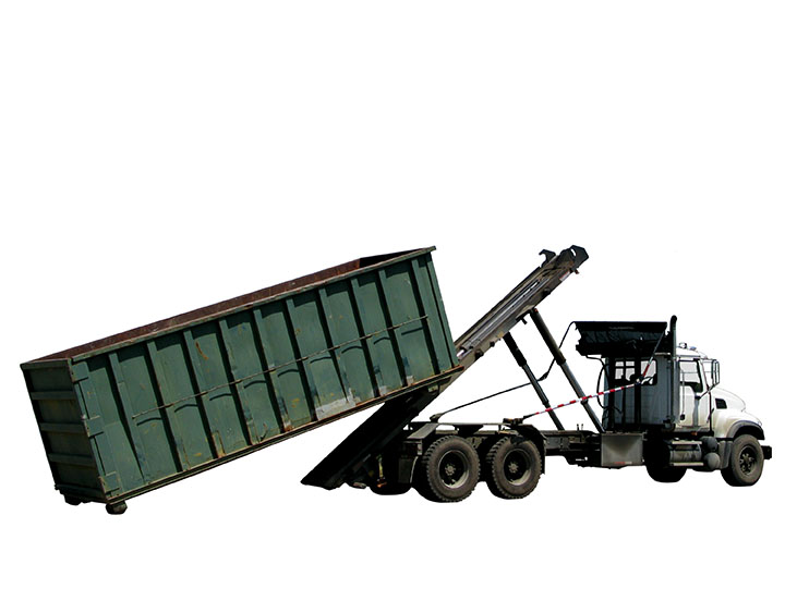 Roll off dumpster rental delivery