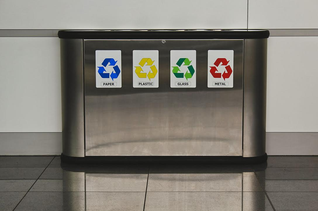 Automated Waste Services Recycling Bins