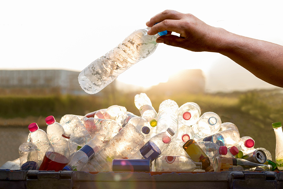 Automated Waste Services Pile of Plastic Bottles