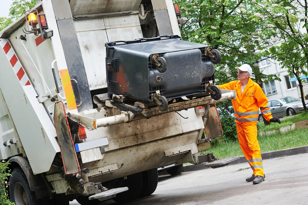 Trash Removal Made Easier with Motorized Garbage Trucks